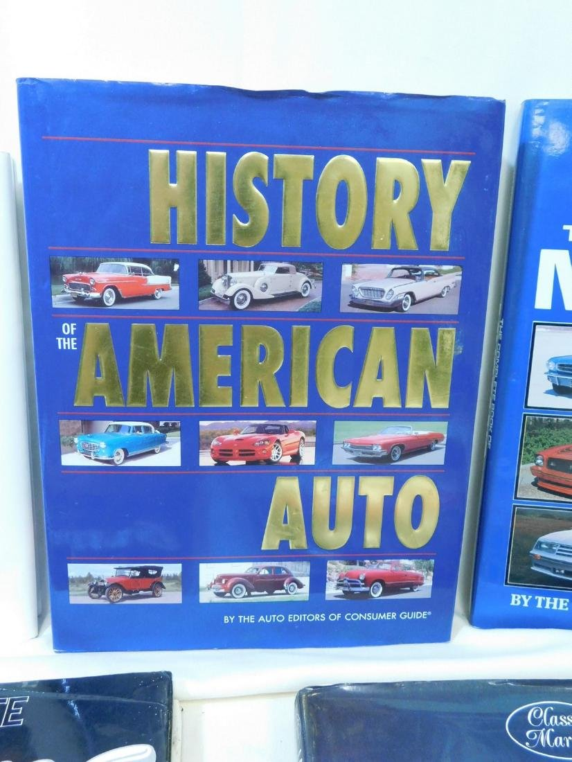 4 MUSTANG COFFEE TABLE BOOKS & MORE - 3