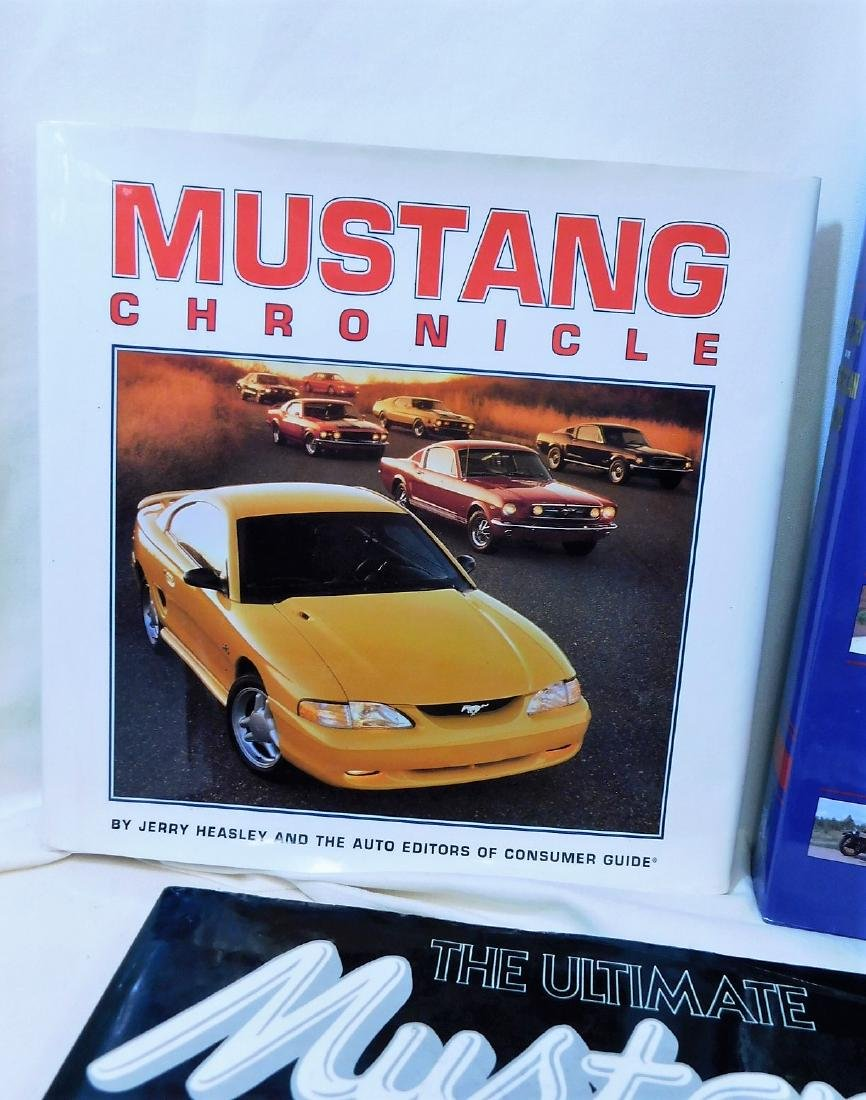 4 MUSTANG COFFEE TABLE BOOKS & MORE - 4