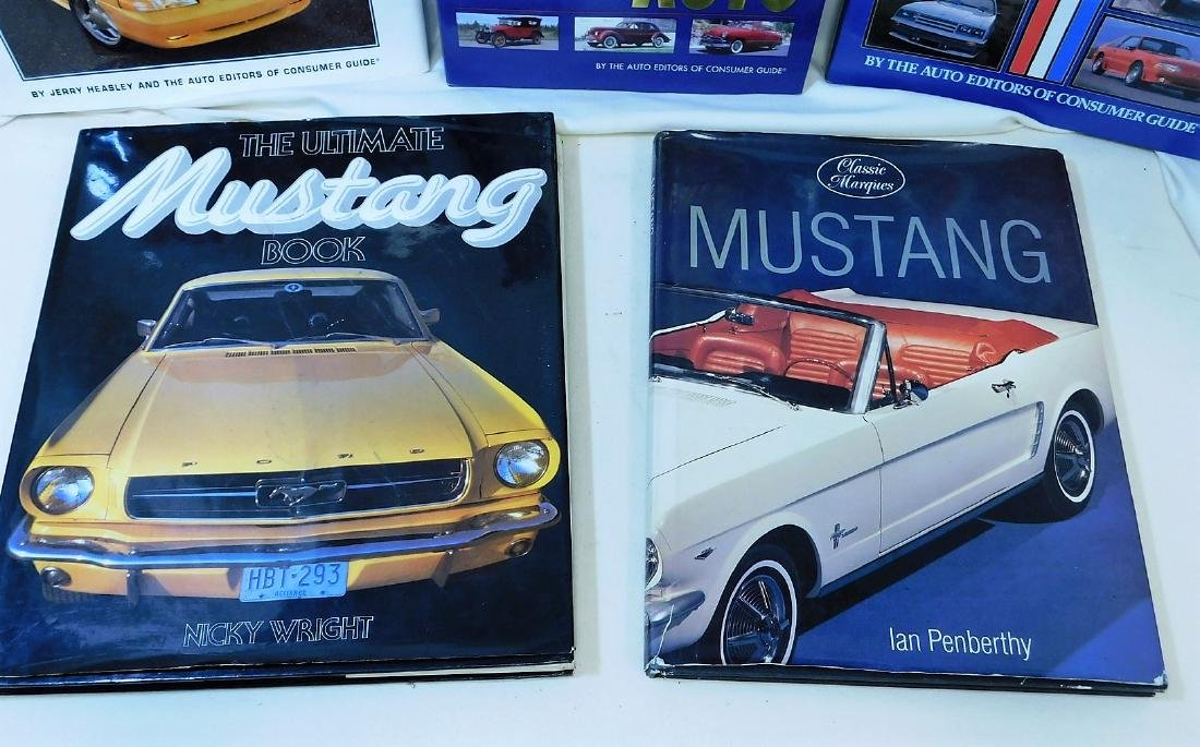 4 MUSTANG COFFEE TABLE BOOKS & MORE - 5