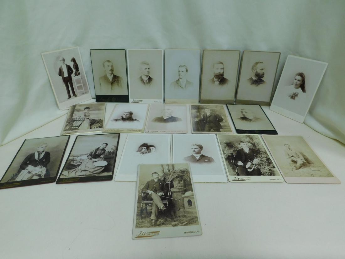 18 OLD BLACK & WHITE PHOTOS - MOST S WILLIAMS HONO