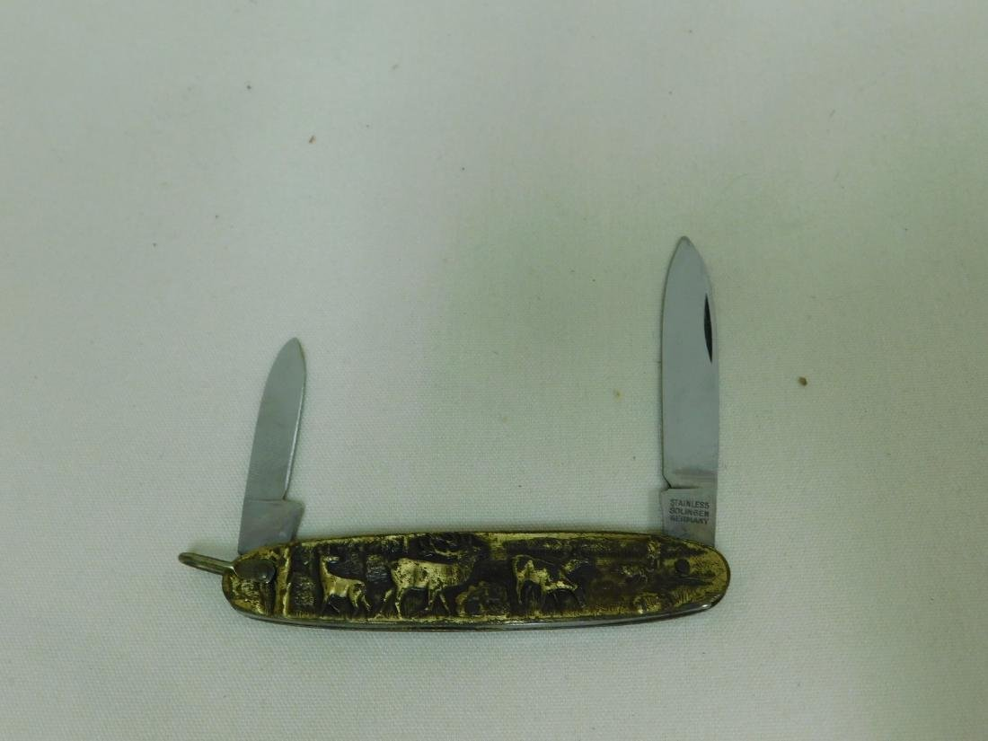 POCKET WATCH & KNIFE SET - 4