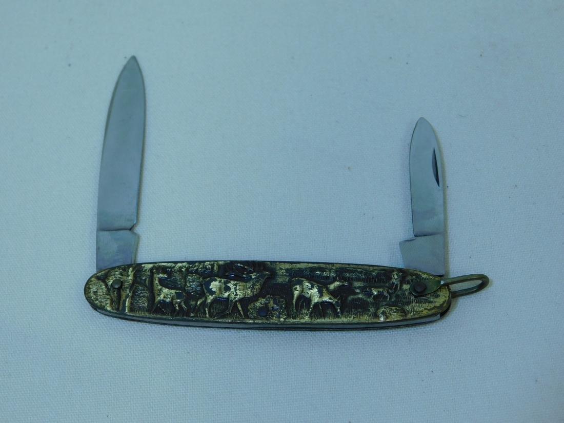 POCKET WATCH & KNIFE SET - 5