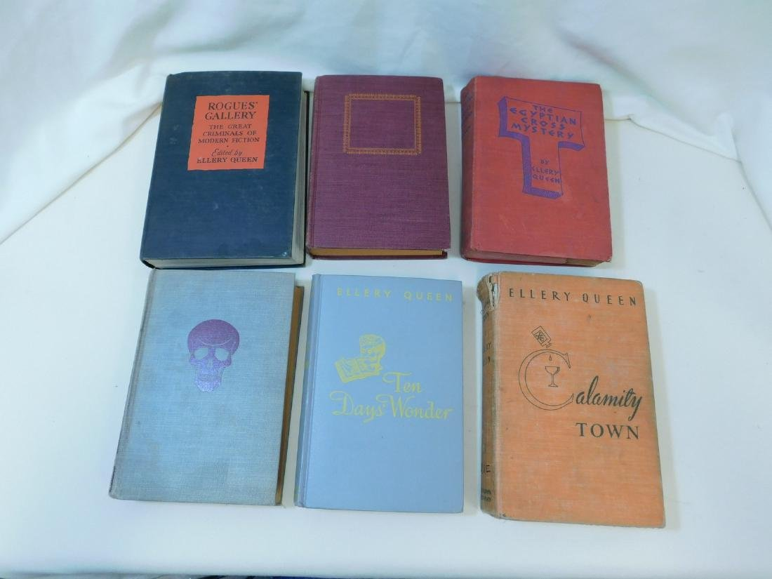 VINTAGE HARD COVER BOOKS - 5
