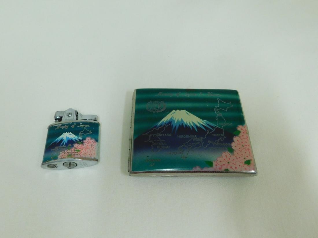 MEMORY OF JAPAN - CIGARETTE CASE & LIGHTER - 2