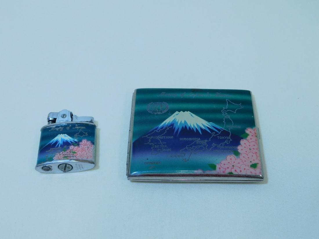 MEMORY OF JAPAN - CIGARETTE CASE & LIGHTER - 3