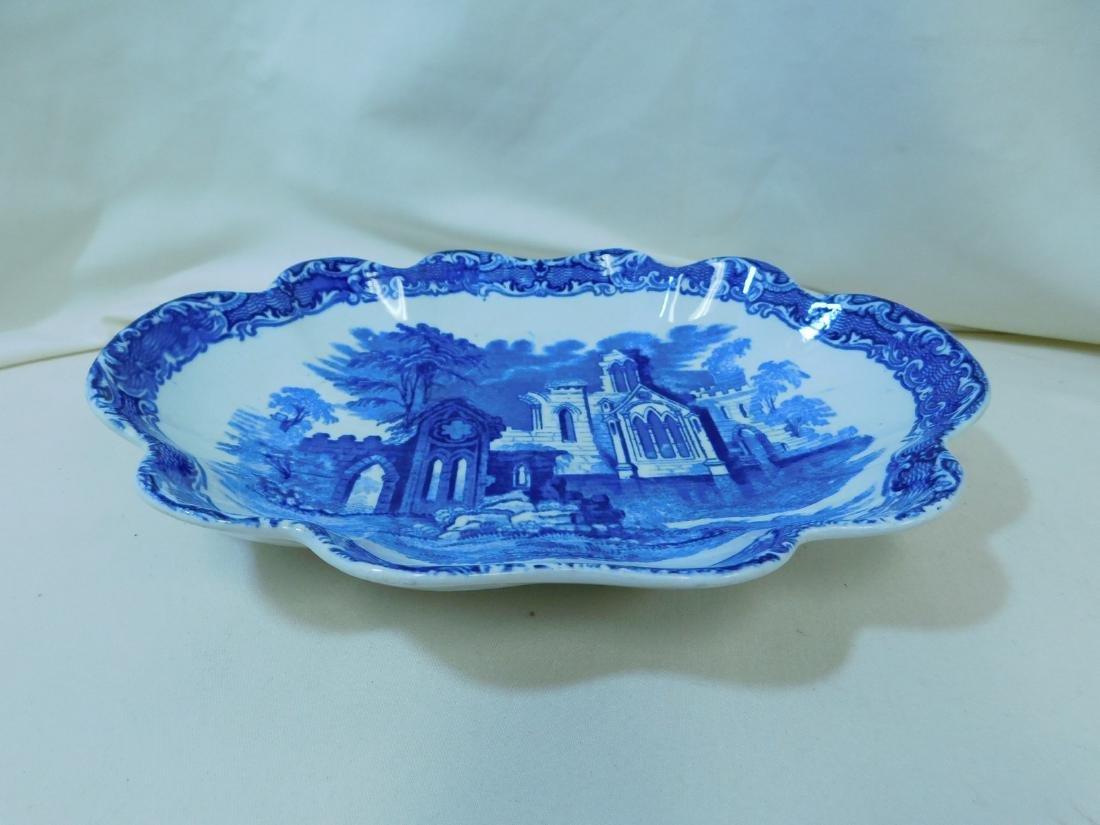 7 BLUE & WHITE CHINA PIECES - 4