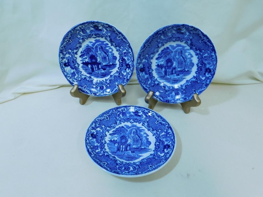 7 BLUE & WHITE CHINA PIECES - 5