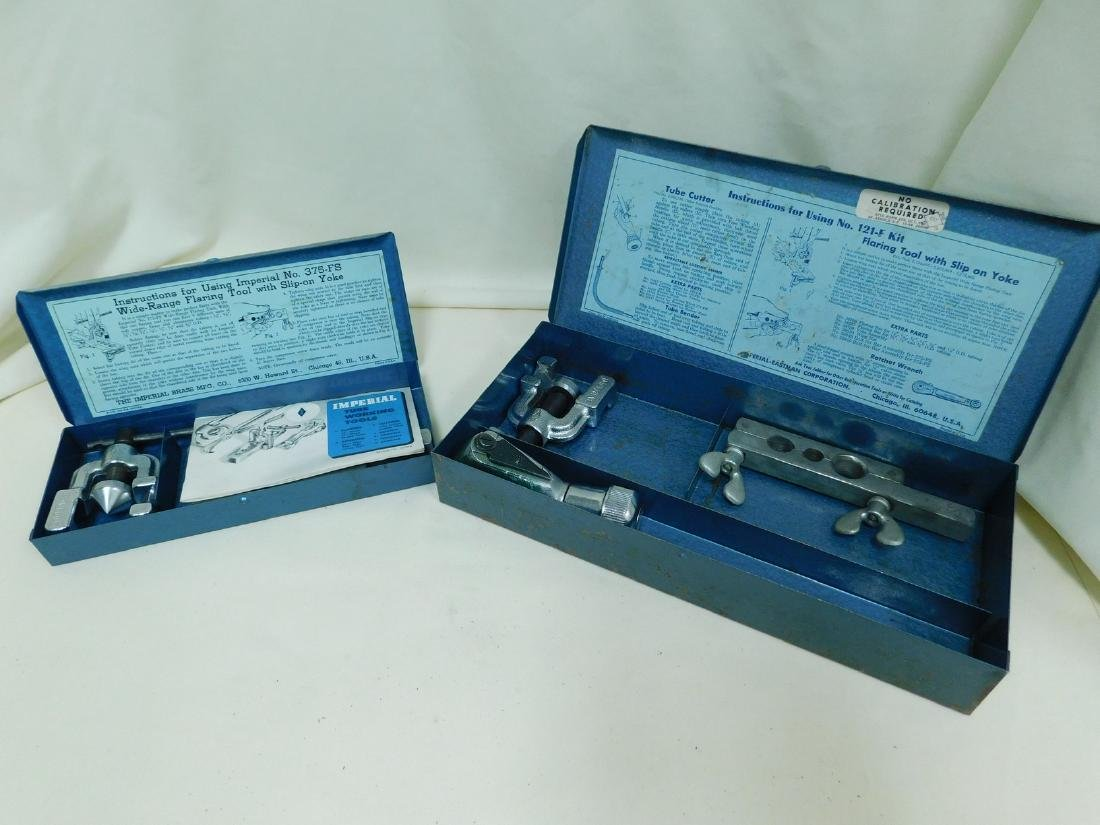 2 IMPERIAL TUBE WORKING TOOL KITS