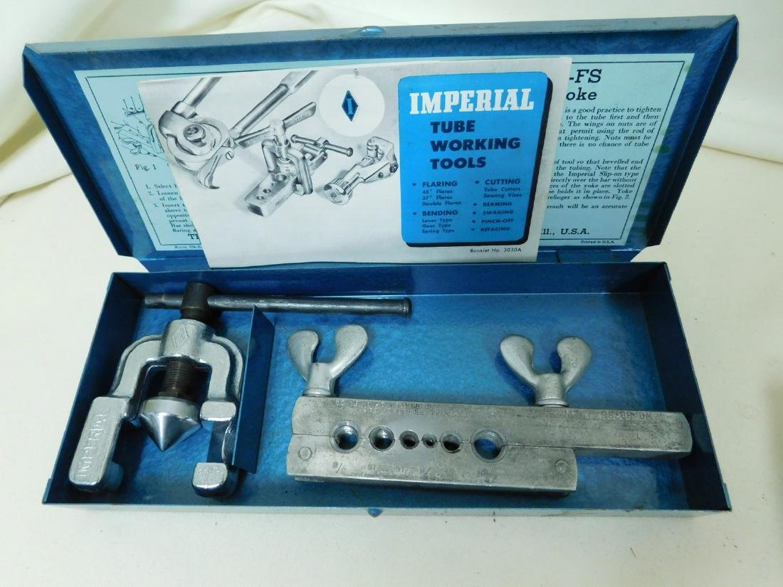 2 IMPERIAL TUBE WORKING TOOL KITS - 2