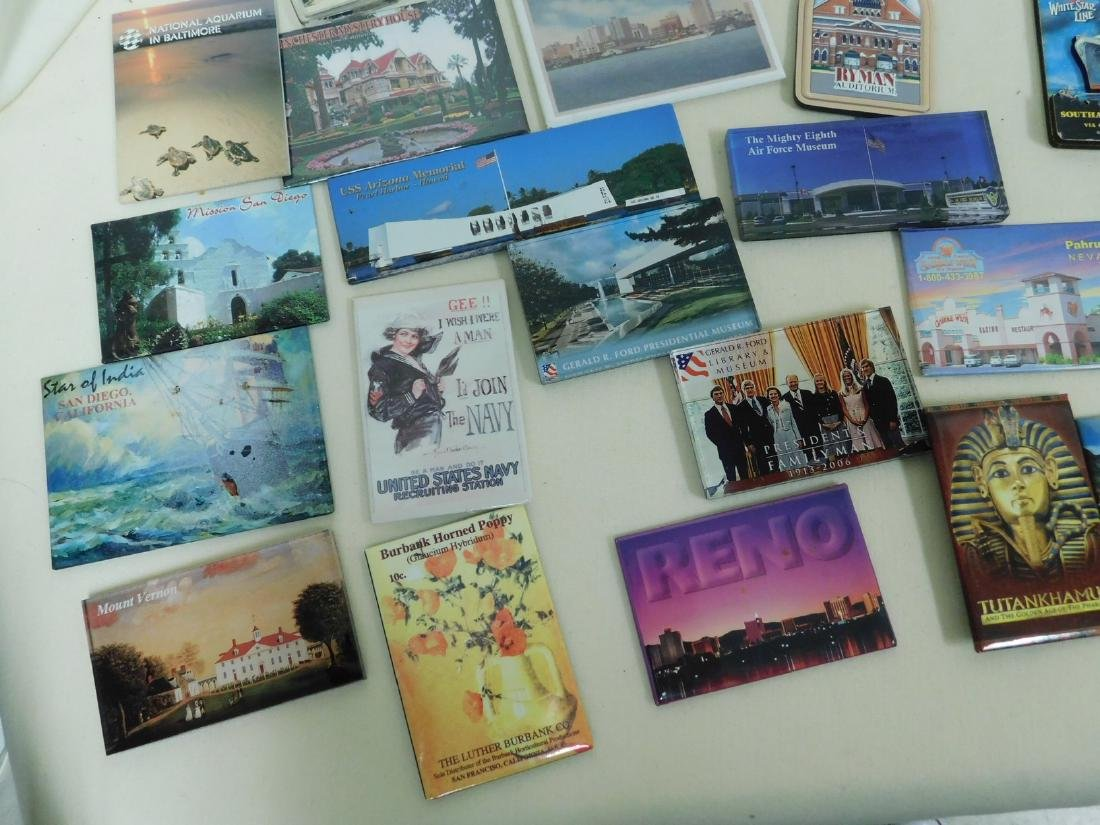 STATE & TOURIST MAGNETS - 10