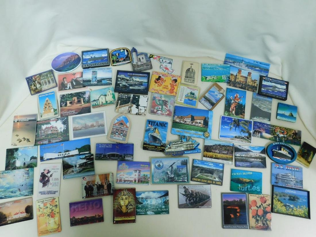 STATE & TOURIST MAGNETS