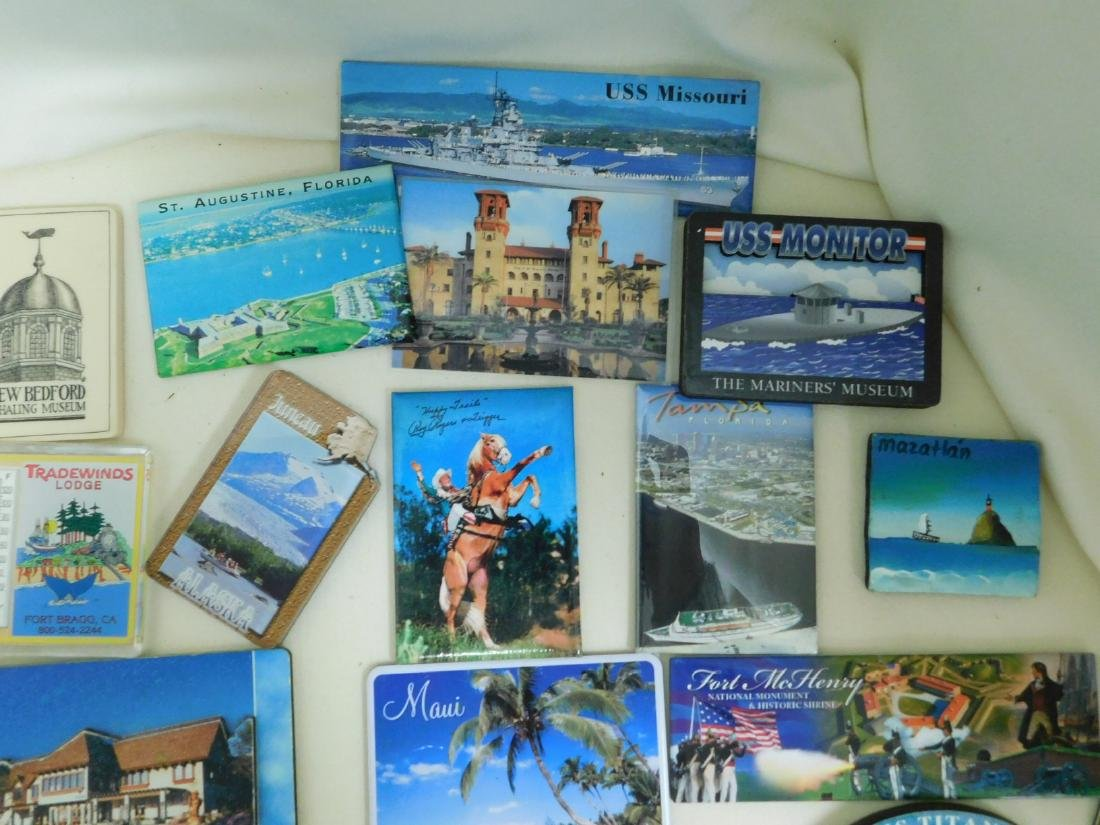 STATE & TOURIST MAGNETS - 2