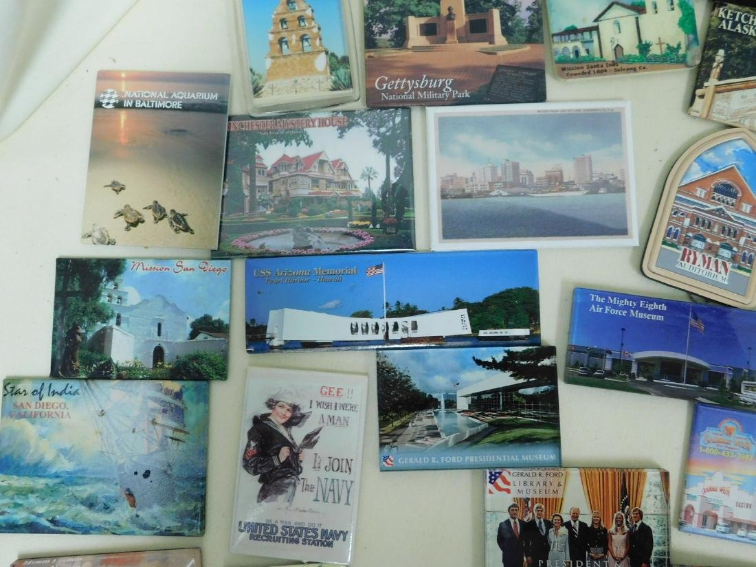 STATE & TOURIST MAGNETS - 5