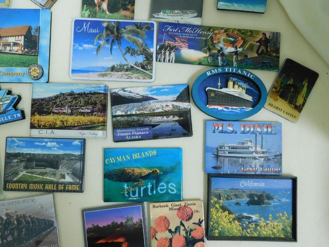 STATE & TOURIST MAGNETS - 7