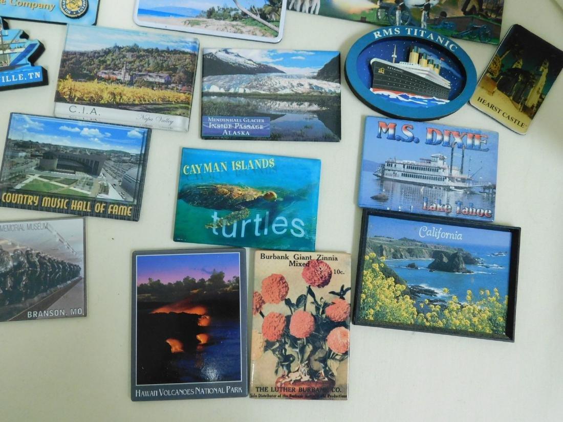 STATE & TOURIST MAGNETS - 8