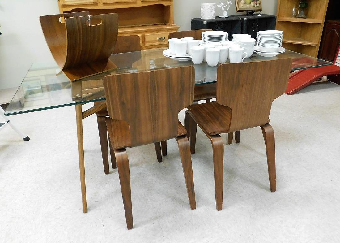 WEST ELM DINING TABLE & CHAIRS