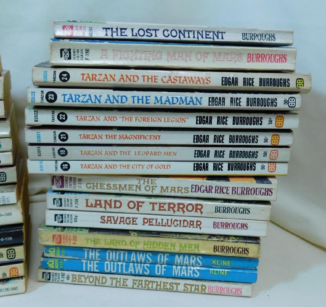 COLLECTION OF EDGAR RICE BURROUGHS BOOKS - 2