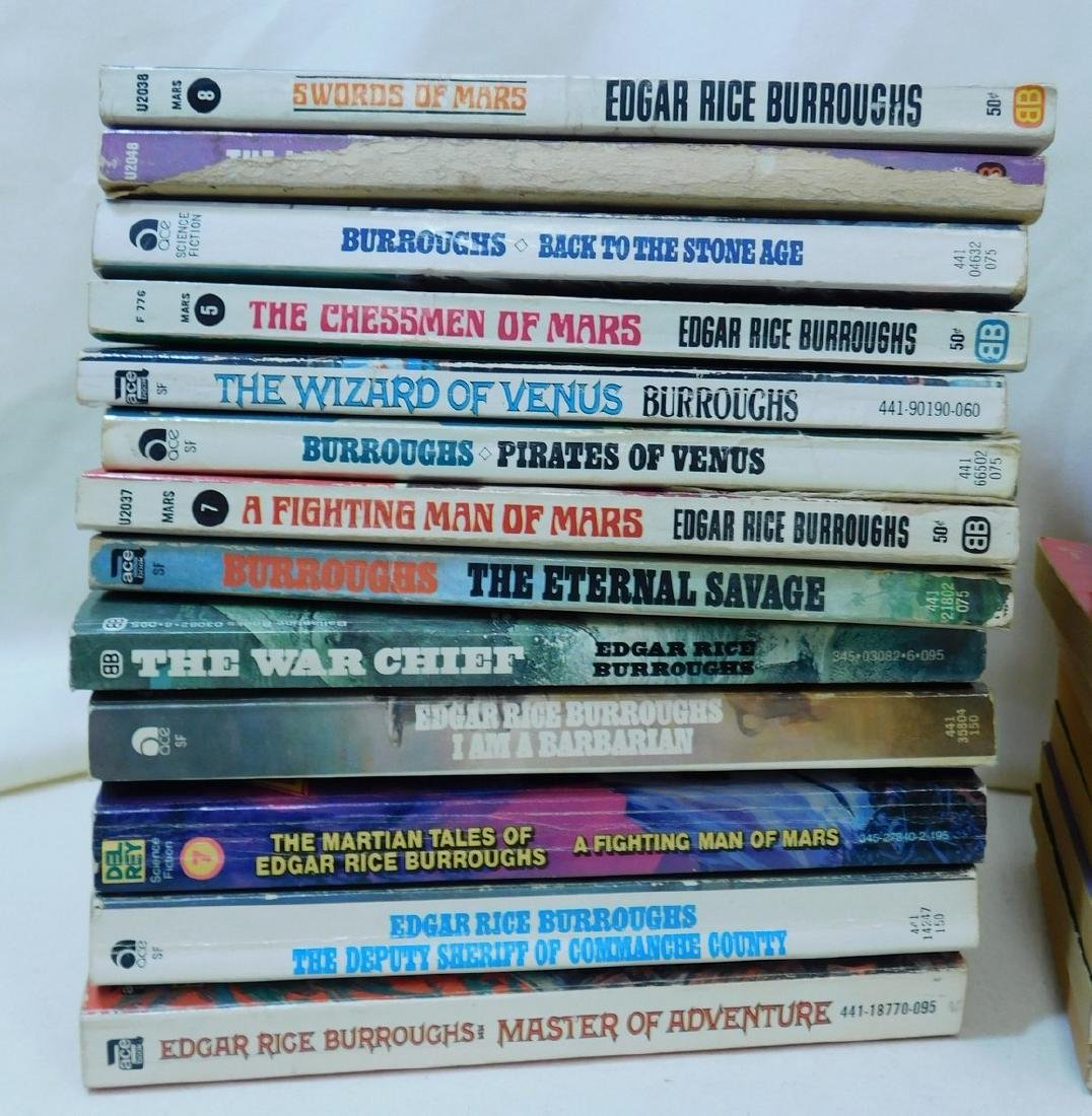 COLLECTION OF EDGAR RICE BURROUGHS BOOKS - 4