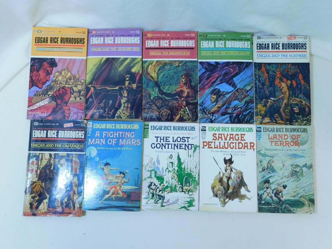 COLLECTION OF EDGAR RICE BURROUGHS BOOKS - 5