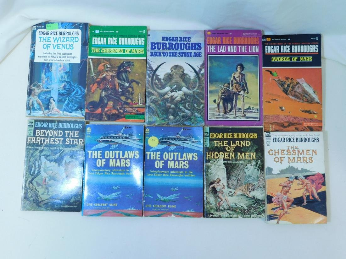 COLLECTION OF EDGAR RICE BURROUGHS BOOKS - 6