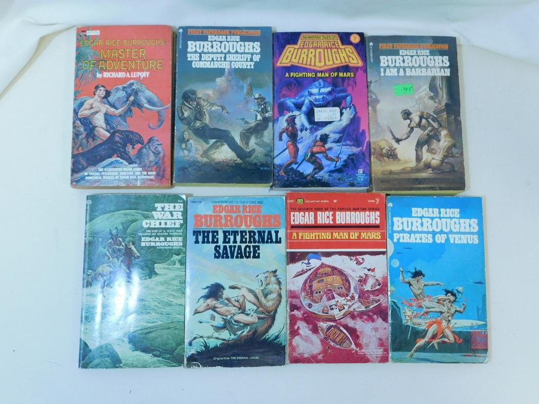 COLLECTION OF EDGAR RICE BURROUGHS BOOKS - 7