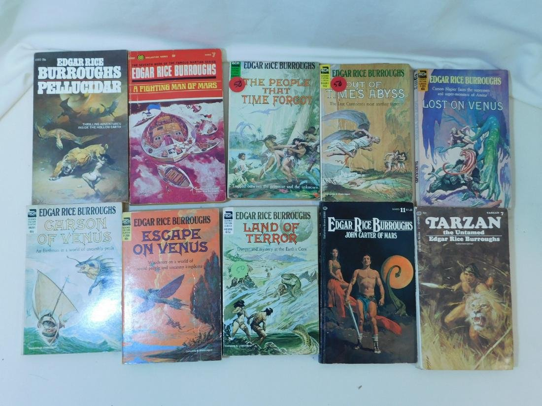 COLLECTION OF EDGAR RICE BURROUGHS BOOKS - 8