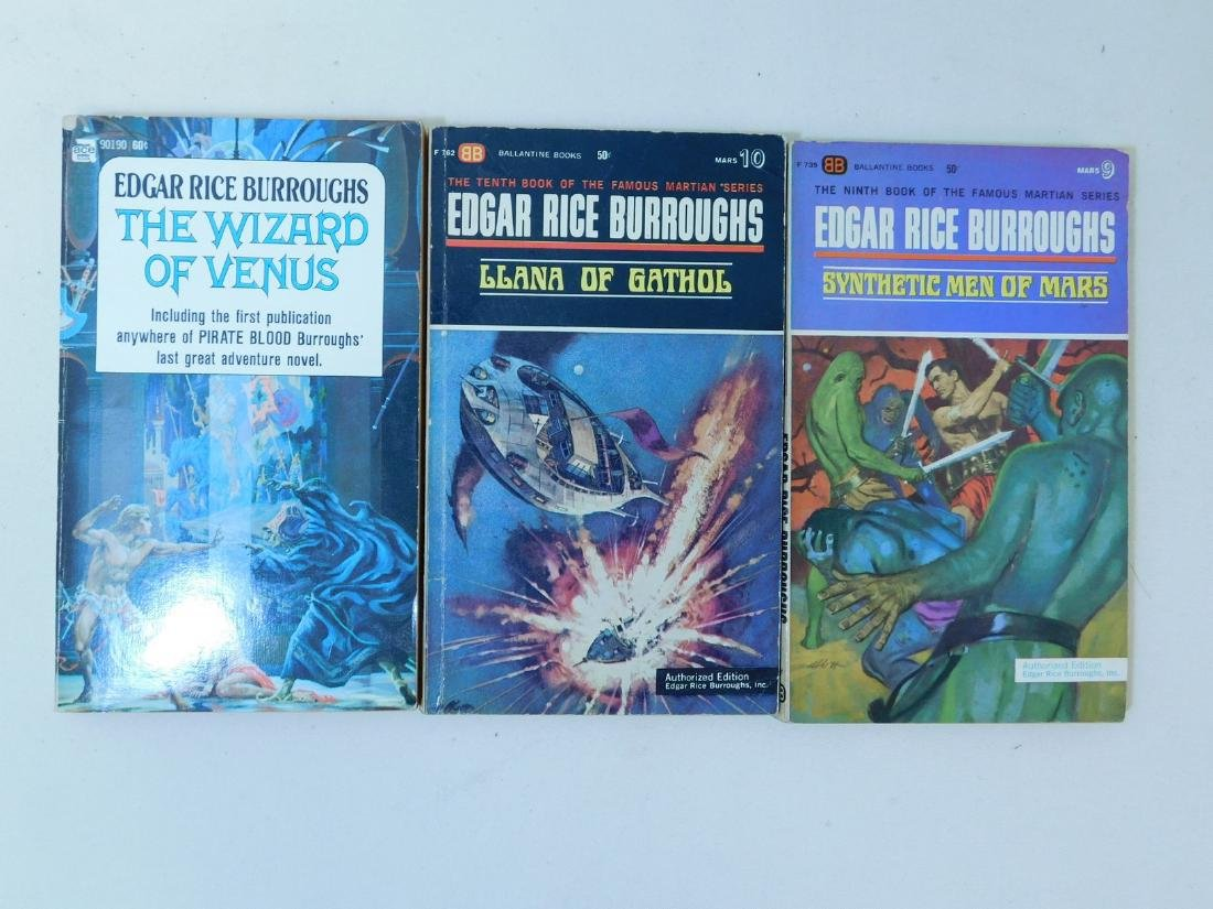 COLLECTION OF EDGAR RICE BURROUGHS BOOKS - 9