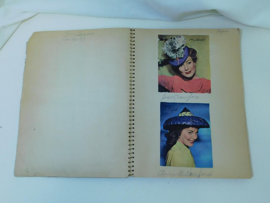 VINTAGE AUTOGRAPH BOOK & MORE - 5