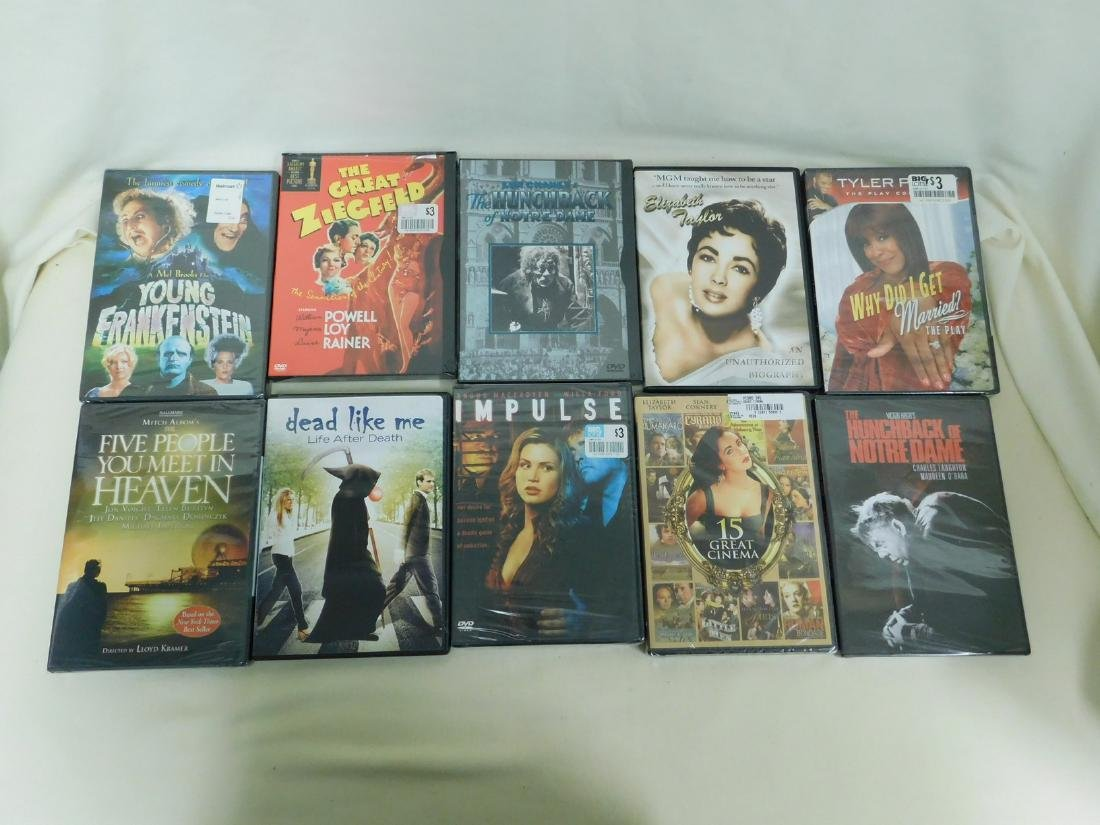 39 DVD'S VARIOUS GENRE - MOST NEW IN PACKAGING - 2