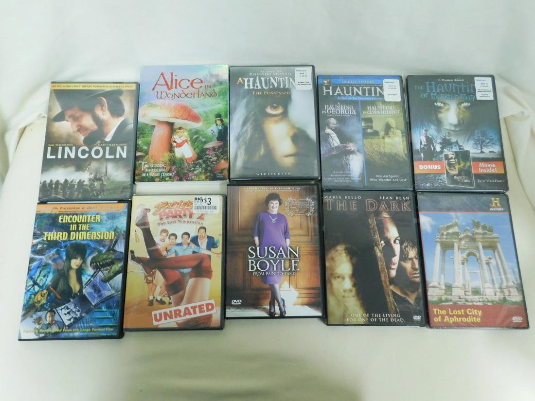 39 DVD'S VARIOUS GENRE - MOST NEW IN PACKAGING - 3