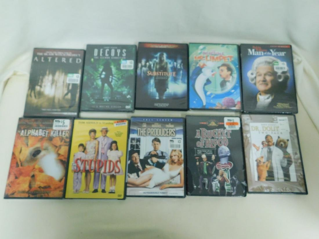 39 DVD'S VARIOUS GENRE - MOST NEW IN PACKAGING - 4