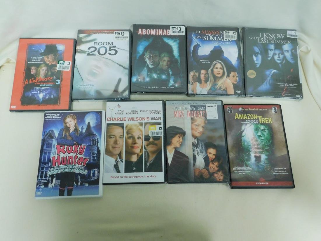 39 DVD'S VARIOUS GENRE - MOST NEW IN PACKAGING - 5