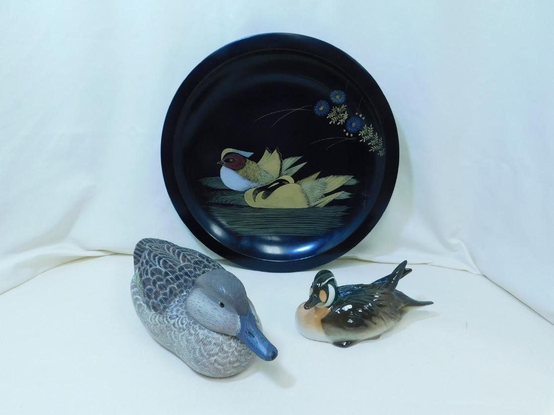 SIGNED DECOY DUCK & MORE