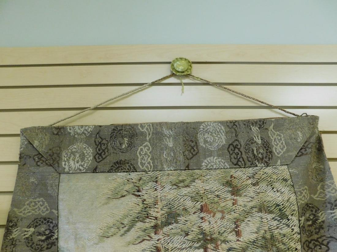 ANTIQUE HAND STITCHED TAPESTRY - 2