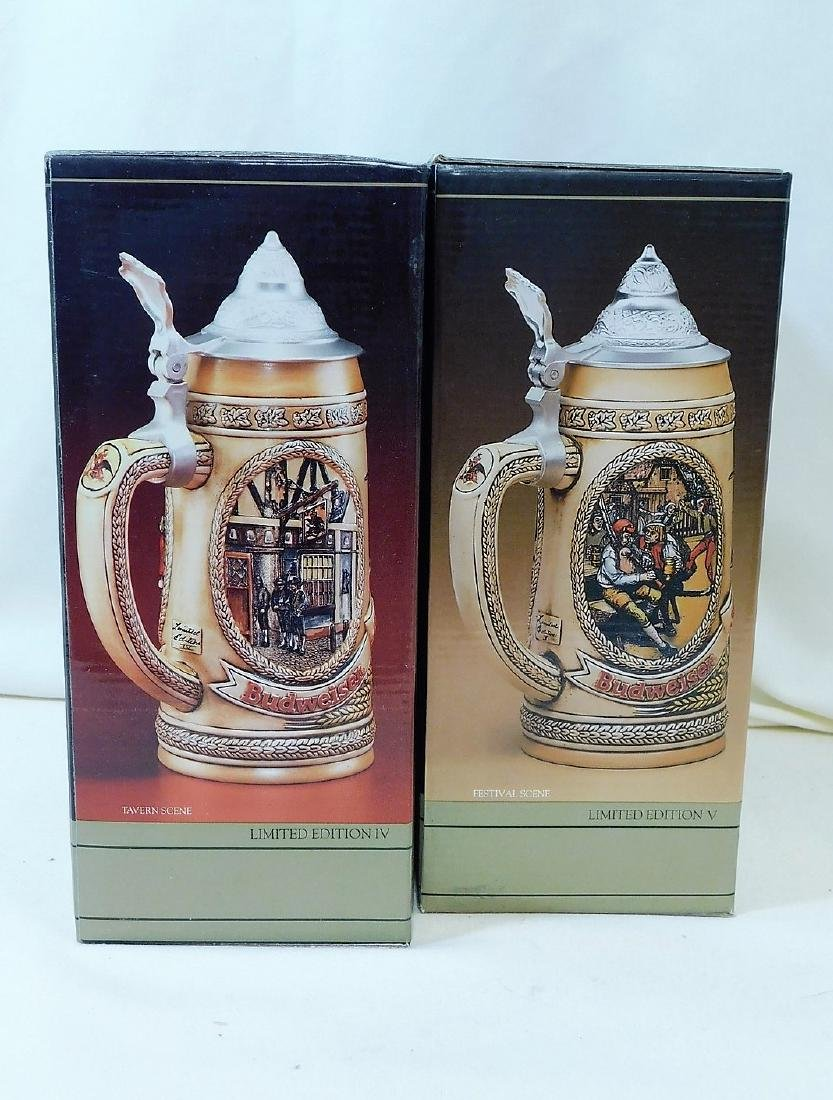 3 NIB BEER STEINS - 7