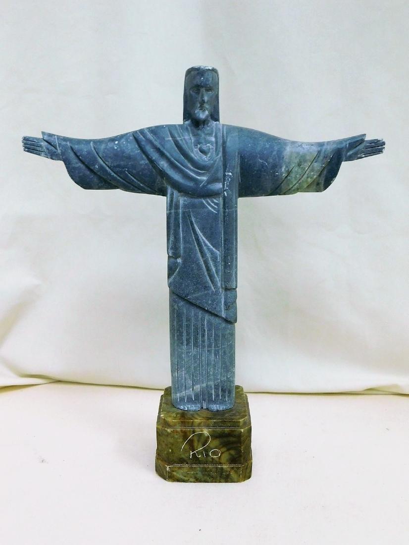 JESUS CHRIST THE REDEEMER STATUE - RIO BRAZIL