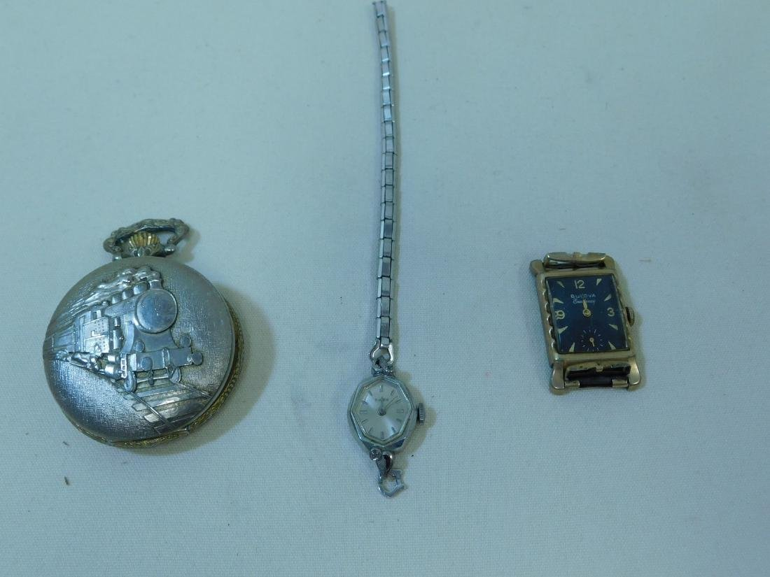 VINTAGE PLAYING CARDS - DOG TAGS - POCKET WATCH & - 4