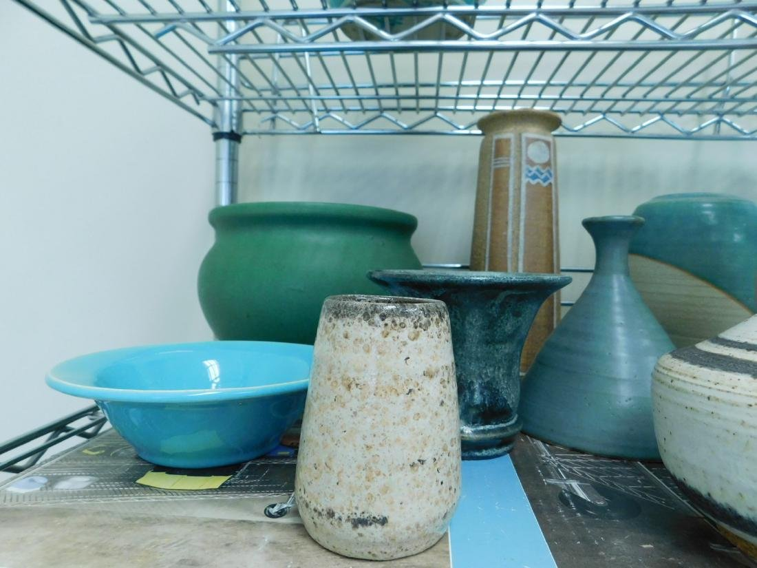 10 POTTERY PIECES - 2