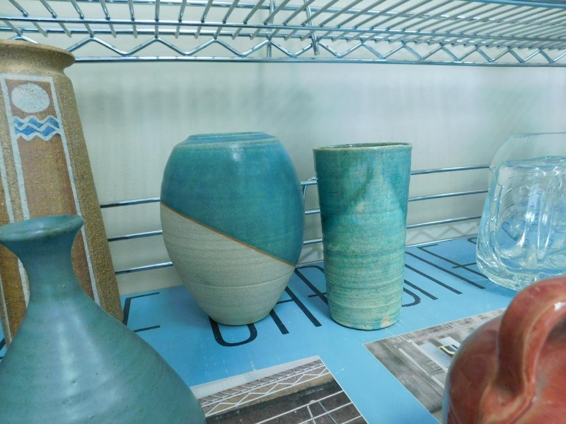 10 POTTERY PIECES - 4