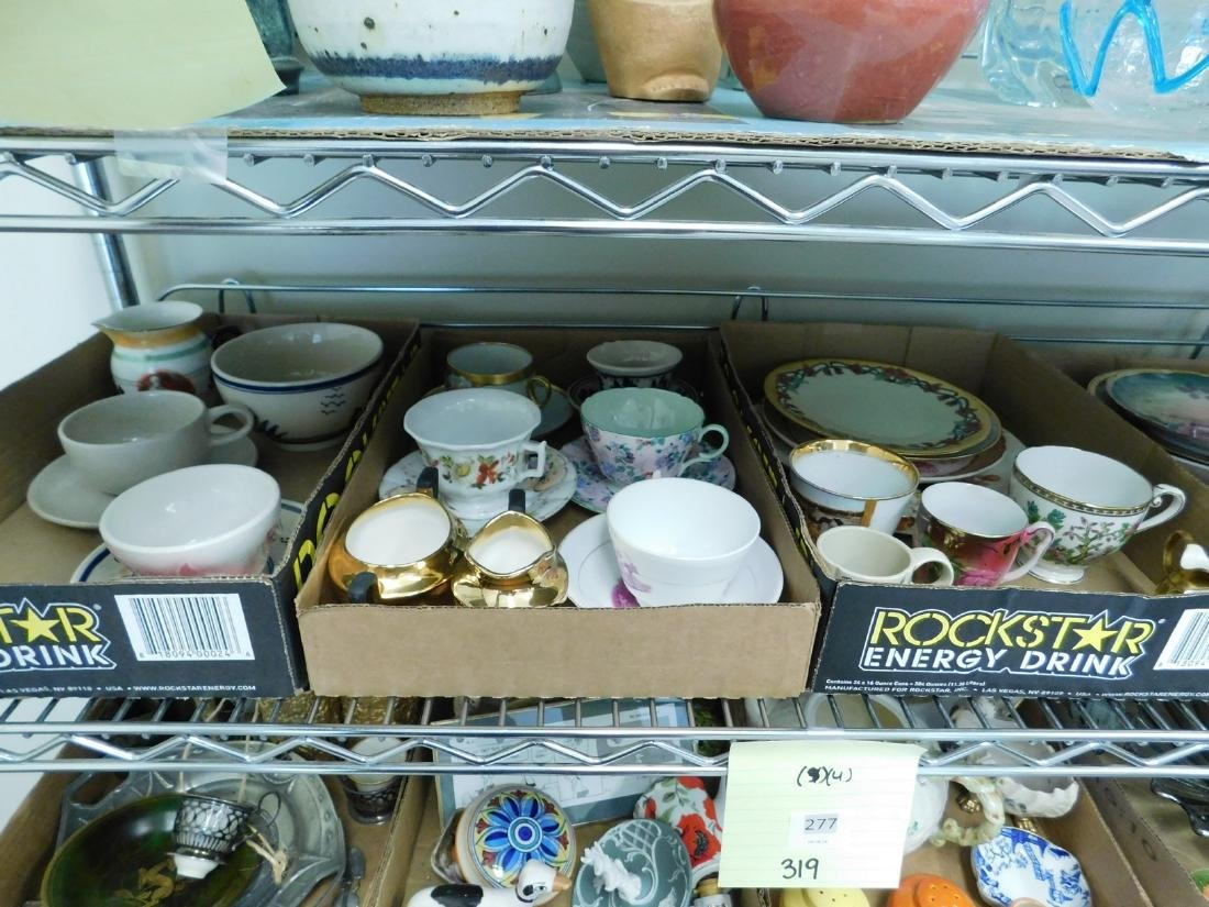 TEACUPS - SAUCERS- PLATES & MORE