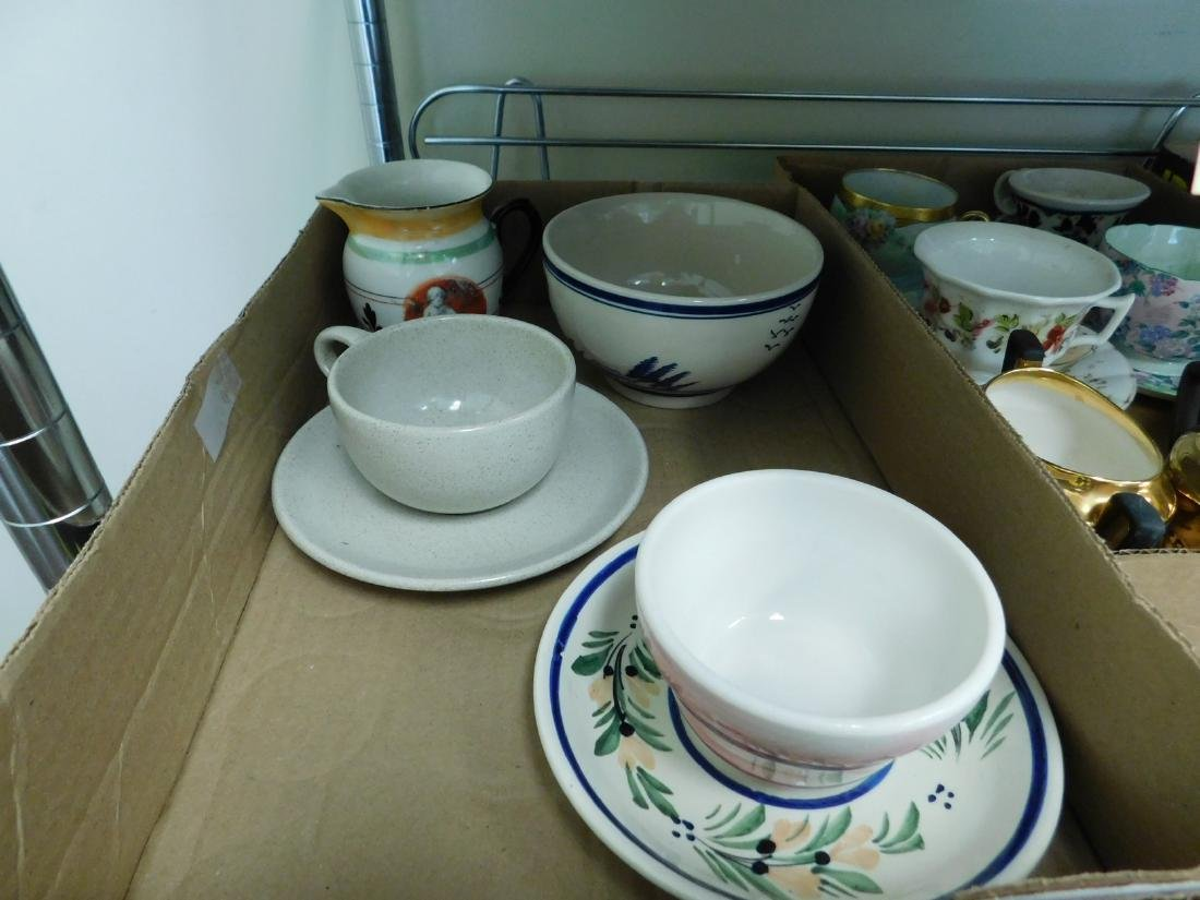 TEACUPS - SAUCERS- PLATES & MORE - 2