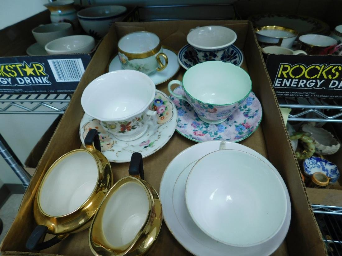 TEACUPS - SAUCERS- PLATES & MORE - 3