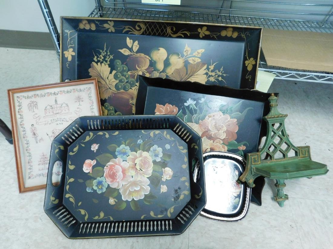 HANDPAINTED TRAYS & MORE