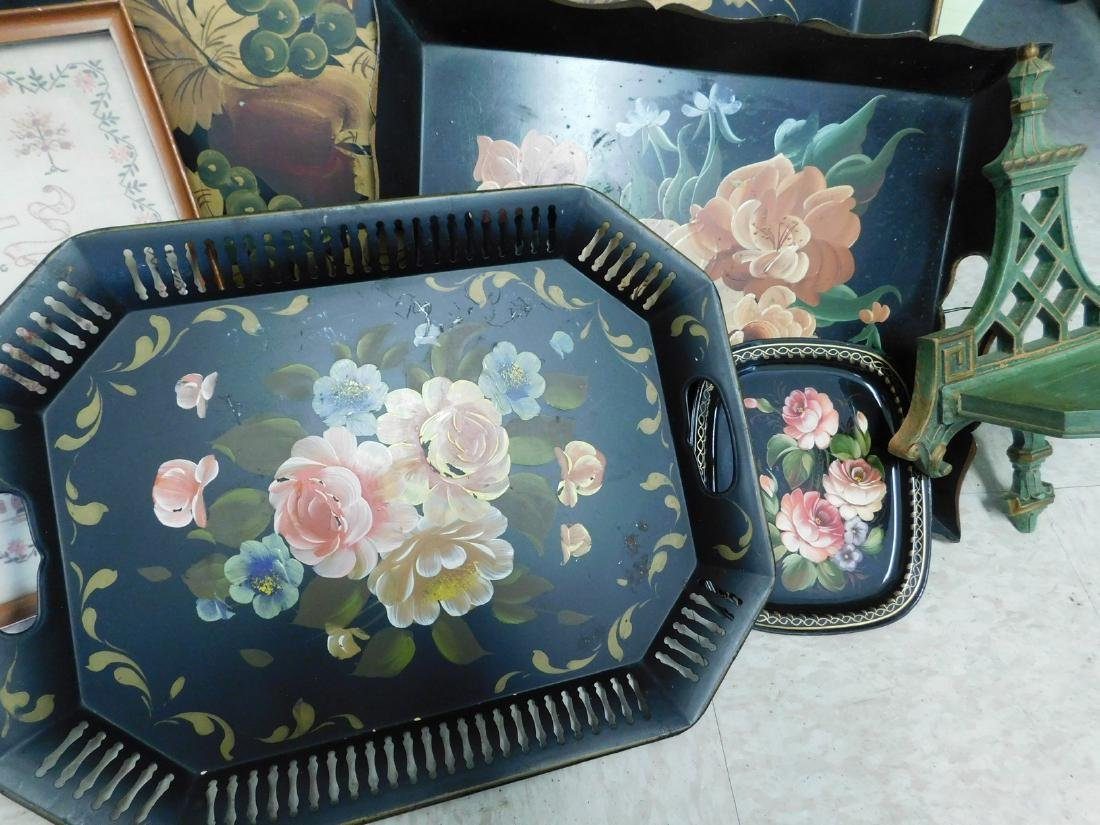 HANDPAINTED TRAYS & MORE - 2