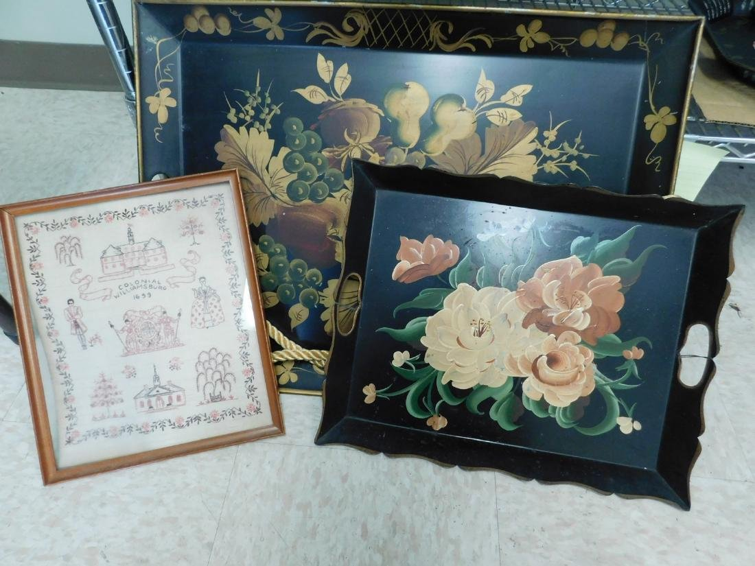 HANDPAINTED TRAYS & MORE - 3