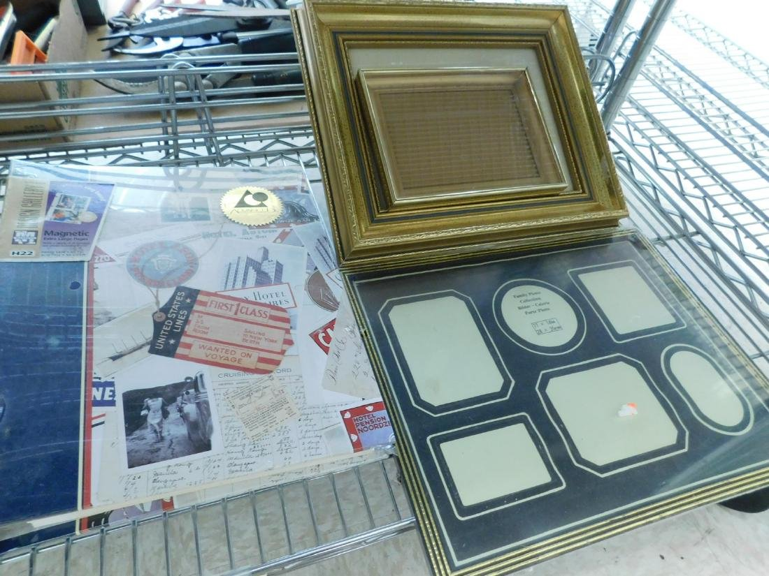 FRAMED VINTAGE BLACK & WHITE FAMILY PHOTOS & SELEC - 4