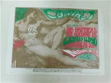 1967 CONCERT POSTER ORIGINAL  BIG BROT