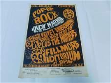 1966 BILLY GRAHAM POP OP ROCK ORIGINAL POSTER