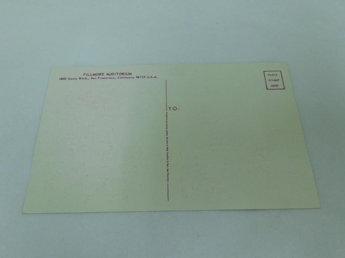 1967 CREAM HAND BILL POSTCARD - 2