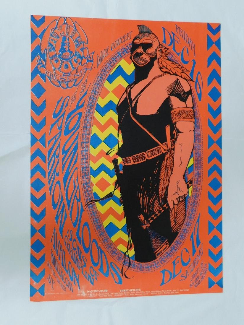 1966 YOUNGBLOODS CONCERT POSTER
